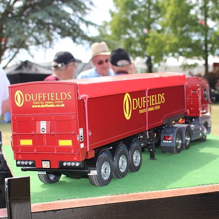 Display on the Duffields Stand at the Royal Norfolk Show 2015