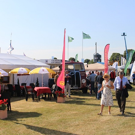 Duffields stand at the Royal Norfolk Show 2015